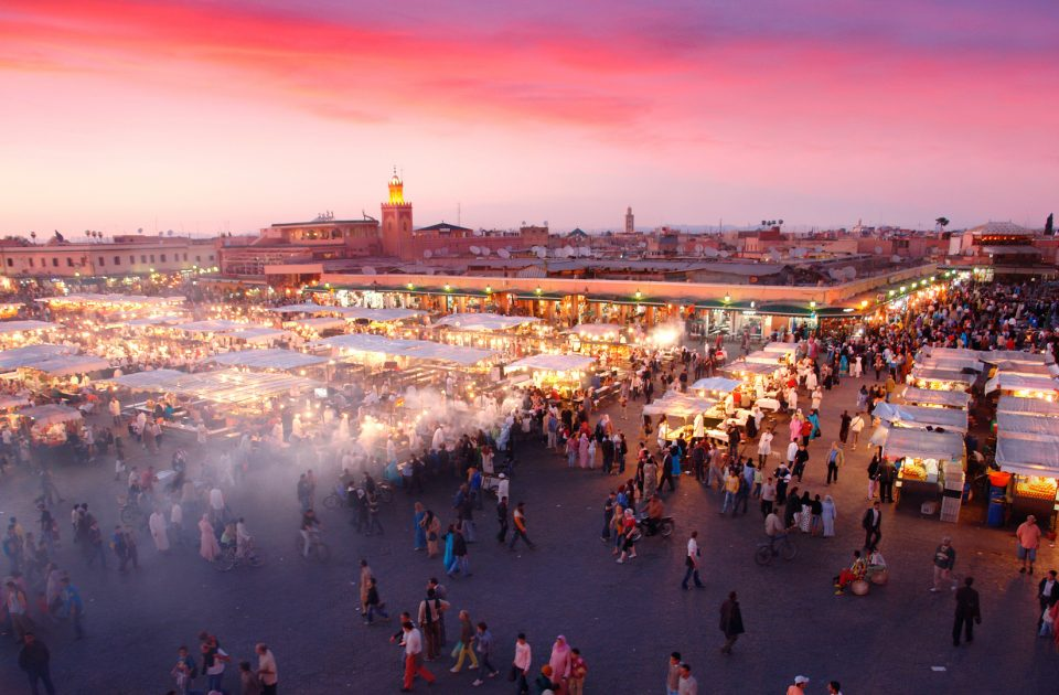 Sortir le soir à Marrakech